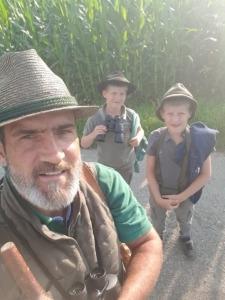 Reviertag mit Jäger Peter Gründling